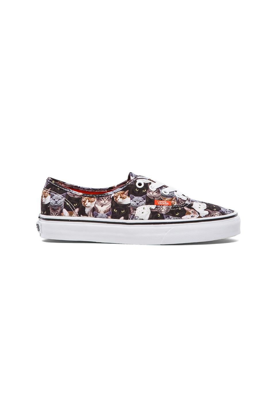Vans Authentic Sneaker in Cats