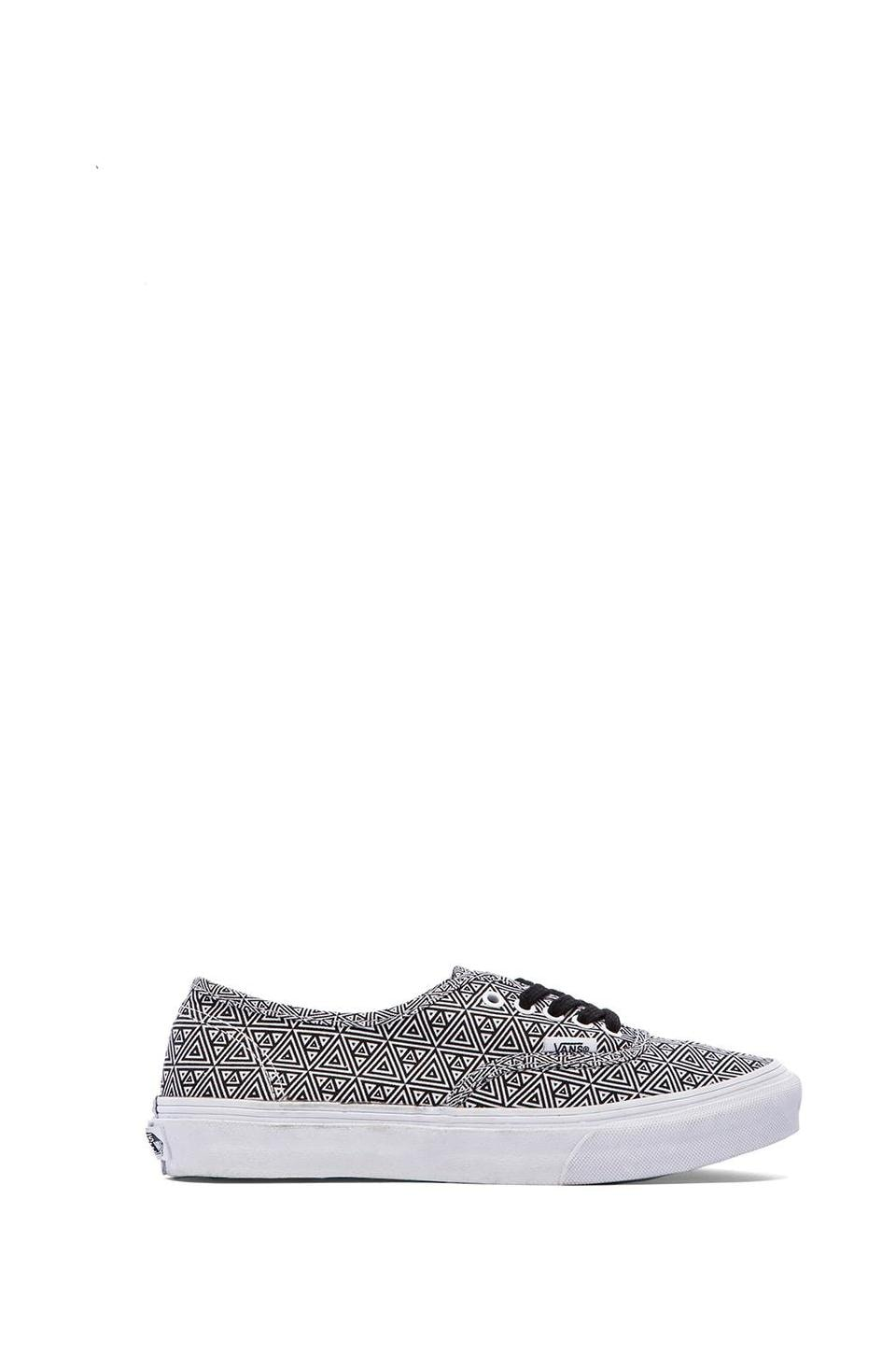 Vans Authentic Slim Sneaker in Geometric