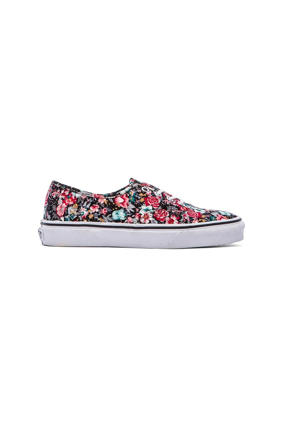 Vans Authentic Sneaker in Multi Floral