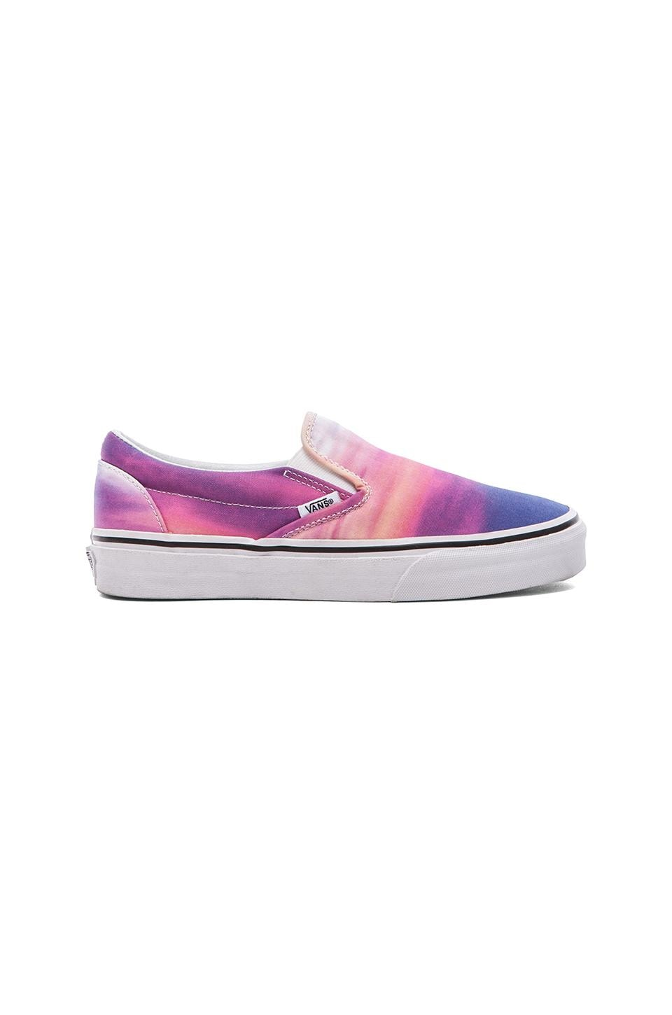 Vans Classic Slip-On in Purple Sunset