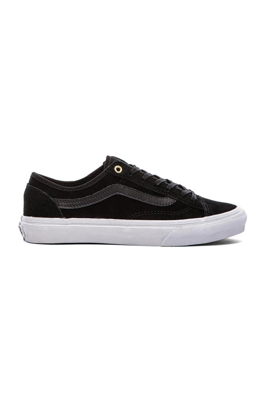 Vans Style 36 Slim Sneaker in Black