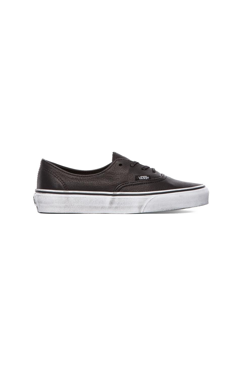 Vans Authentic Deacon CA in Black