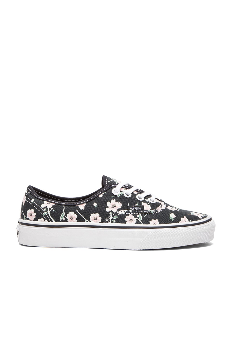 Vans Authentic Vintage Floral Sneaker in Blue Graphite