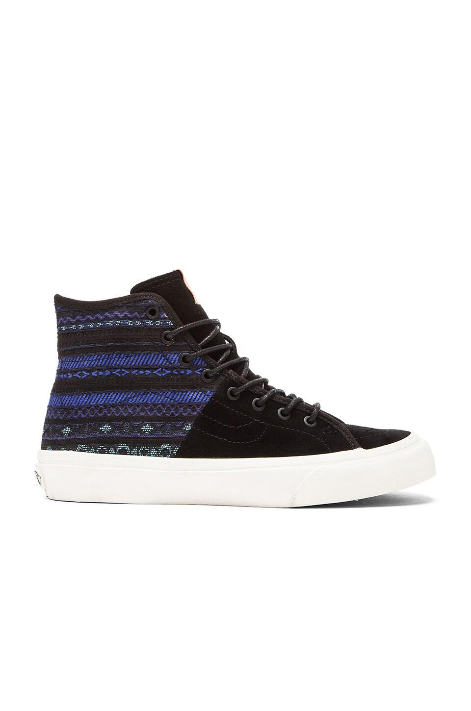 Vans SK8-Hi Italian Decon Sneaker in Blue & Black