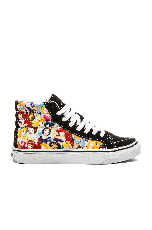 Vans Sk8 Hi Slim Disney Sneaker in Multi Princess