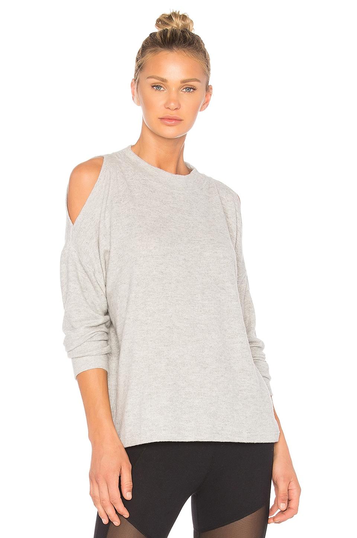 Varley Carbon Revive Sweatshirt in Light Grey