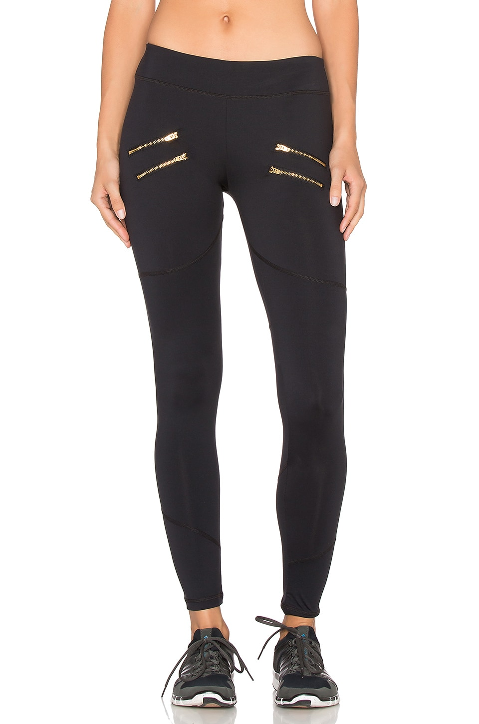 Varley Sofia Compression Tight in Black
