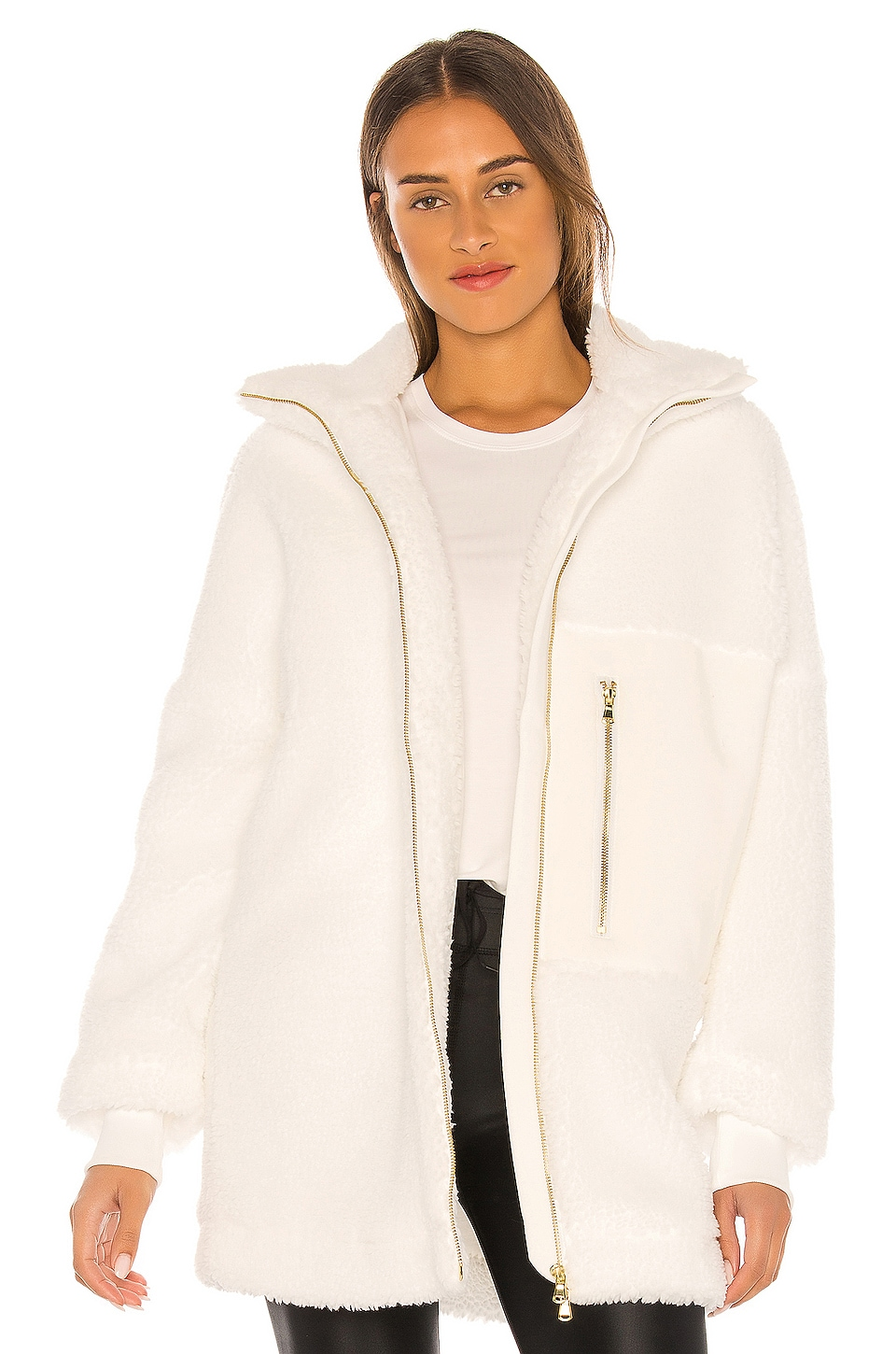 Varley Shelburn Jacket in White