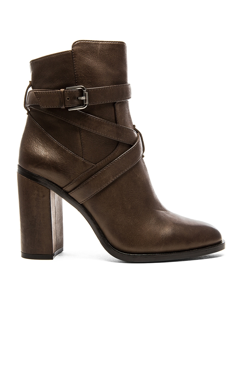 Vince Camuto Garvell Bootie in Khaki Grey