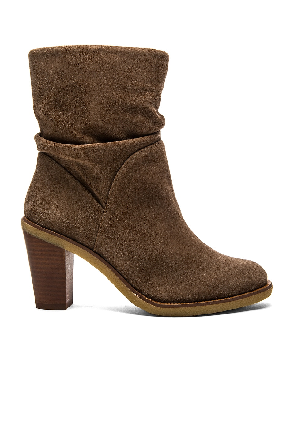 Vince Camuto Parka Bootie in Taupe