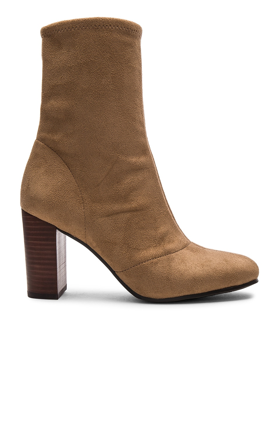 Vince Camuto Sendra Booties in Khaki