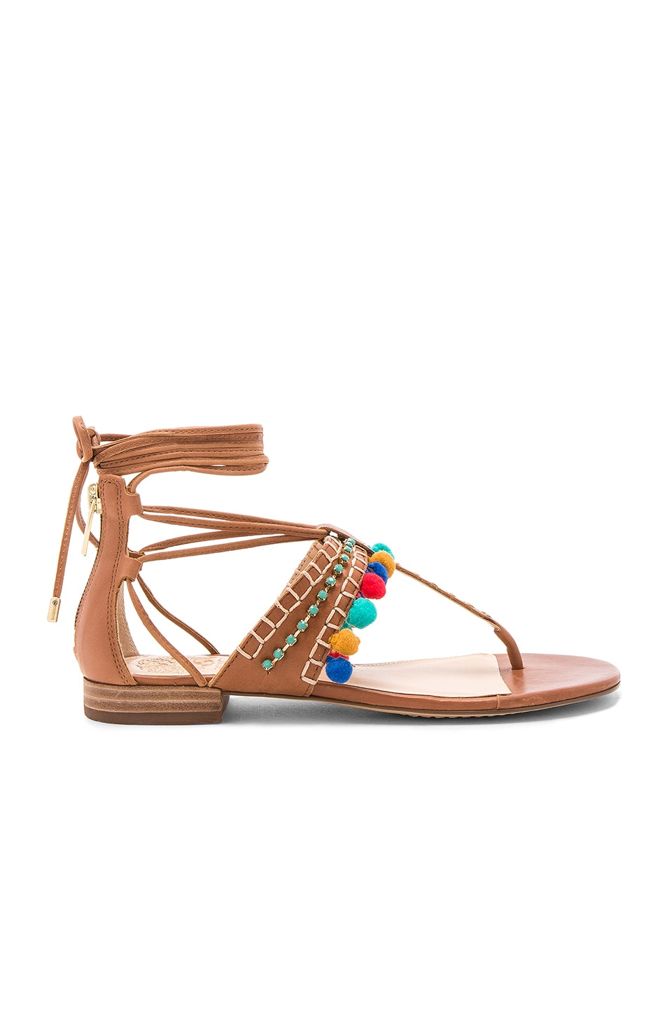 Vince Camuto Balisa Sandal in Whiskey Barrel