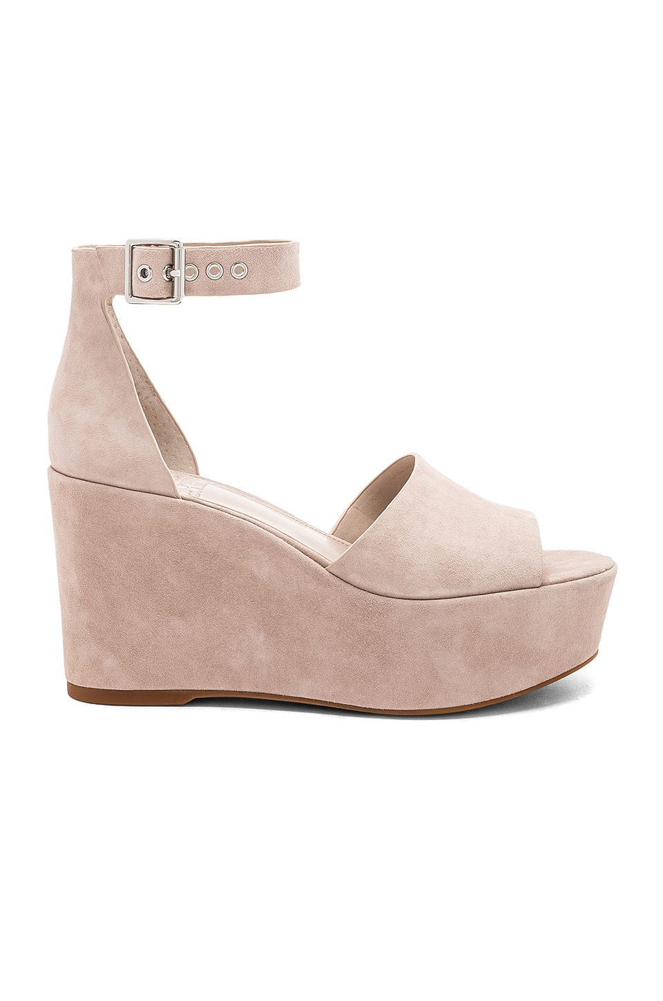 Vince Camuto Korista Wedge in Tipsy Taupe