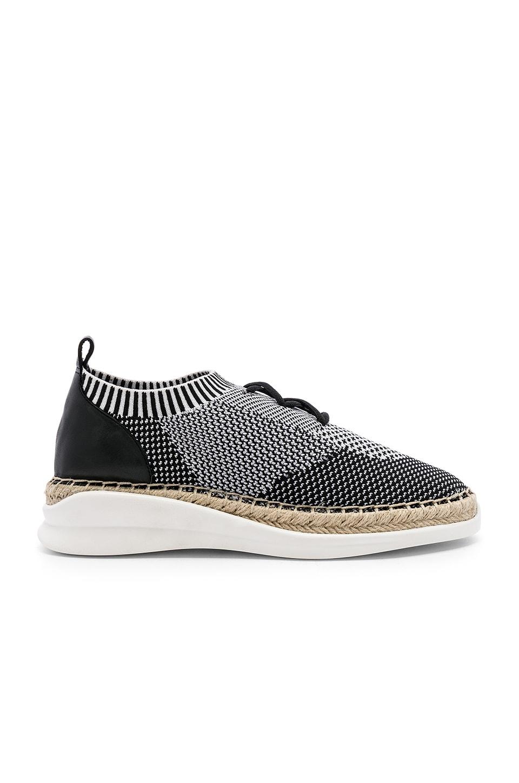Vince Camuto Affina Sneaker in Black & White
