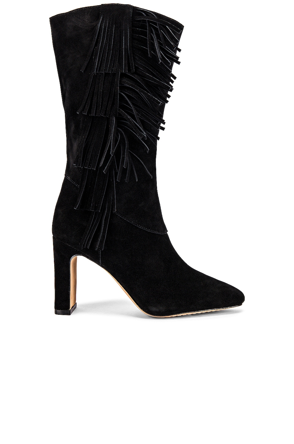 Vince Camuto Sterla Boot in Black Suede