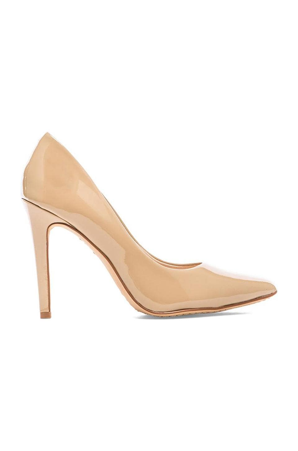 Vince Camuto Kain Patent Leather Heel in Nude