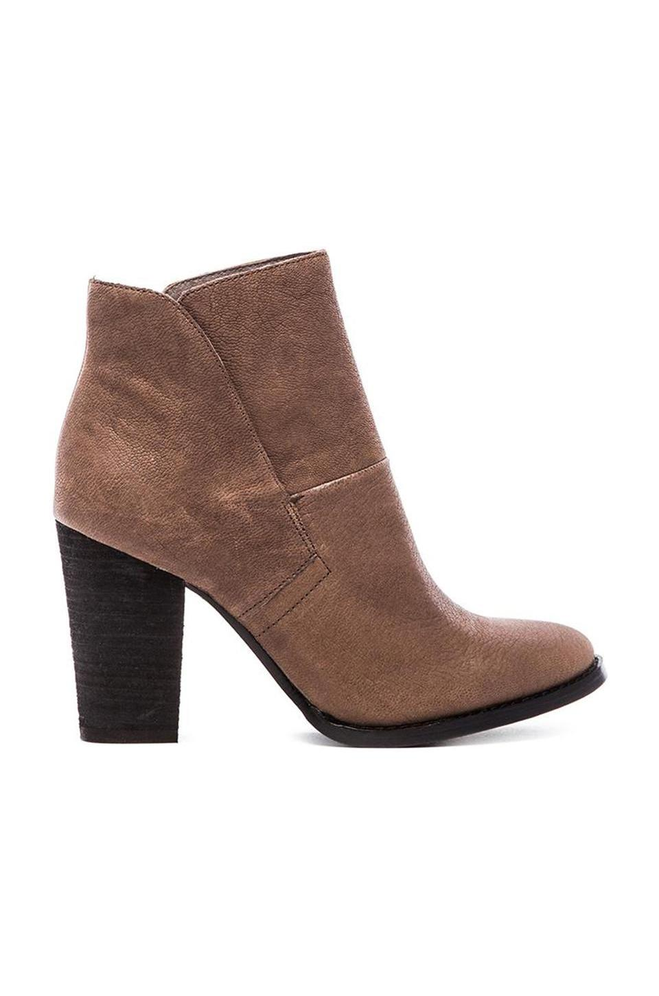 Vince Camuto Ristin Bootie in Smoke Taupe