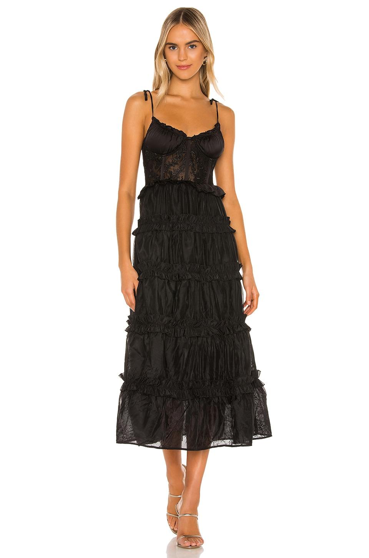 V. Chapman Primrose Dress in Black