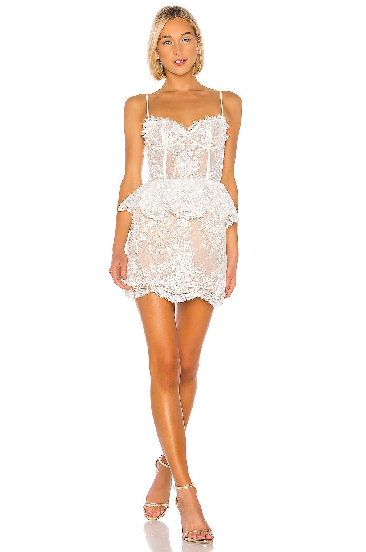 V. Chapman Poppy Dress in White