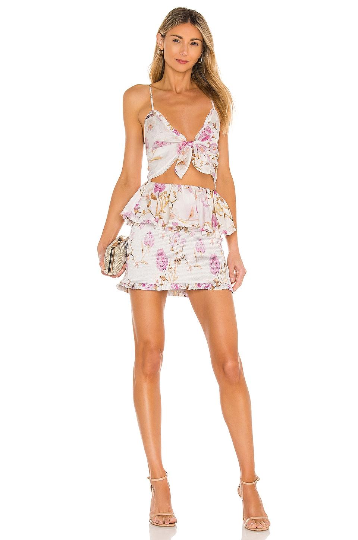 V. Chapman Periwinkle Dress in Savannah Rose Lavender