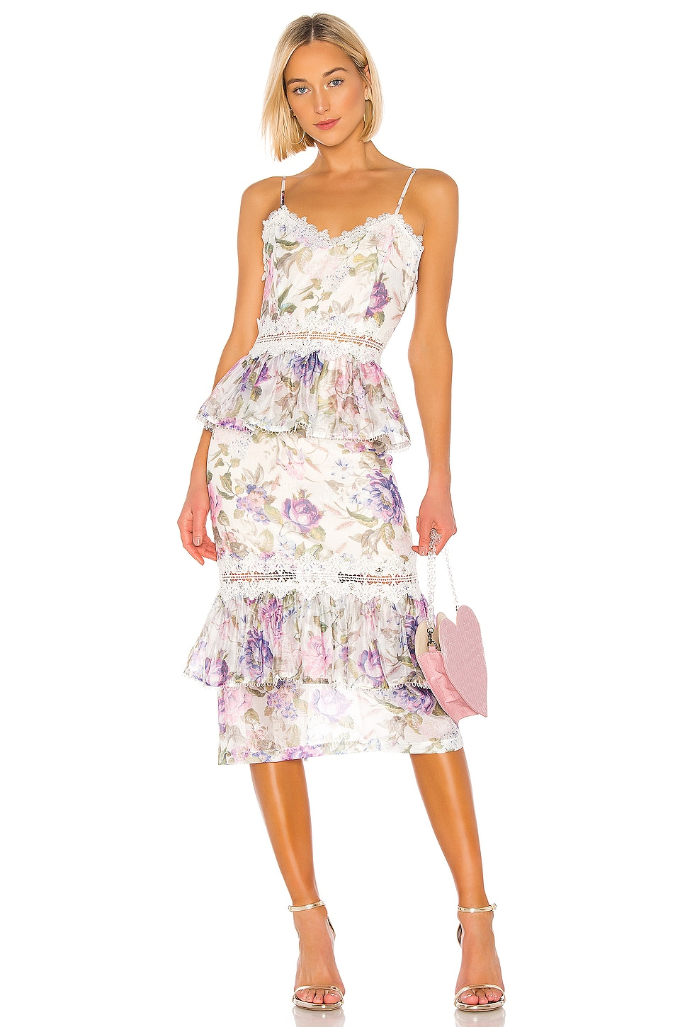 V. Chapman Daffodil Dress in Floral Printe
