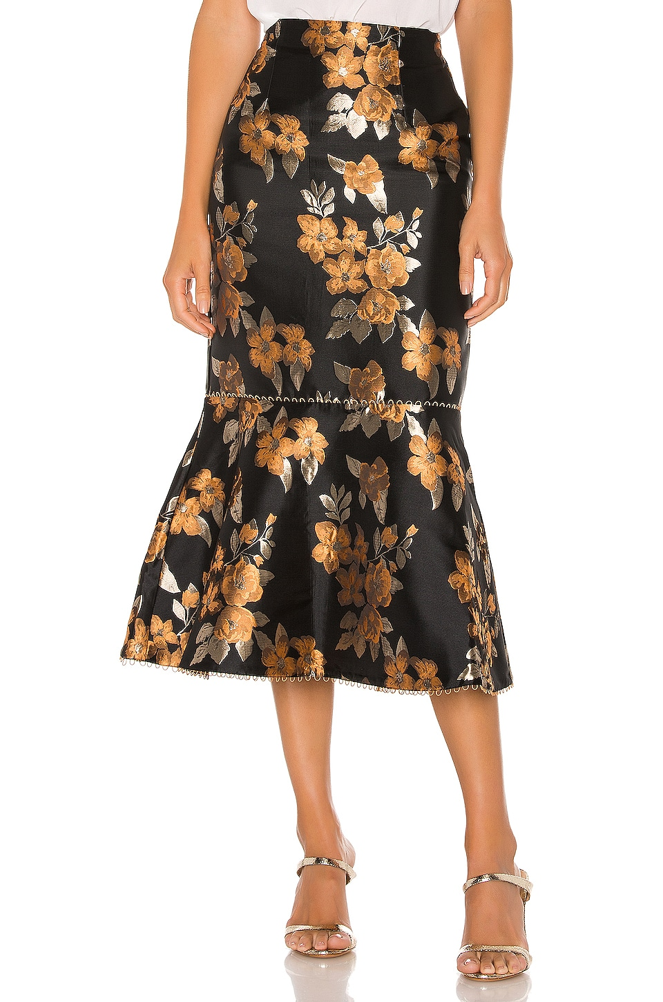 V. Chapman Opera Skirt in Baroque Sunset