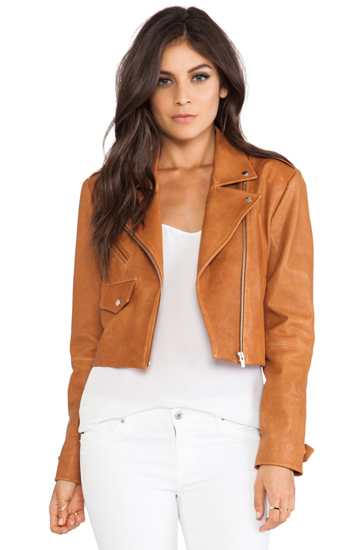 VEDA Punch Jacket in Tan