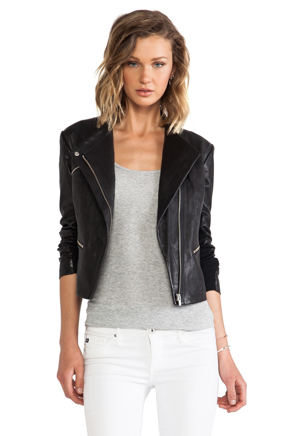 VEDA James Jacket in Black