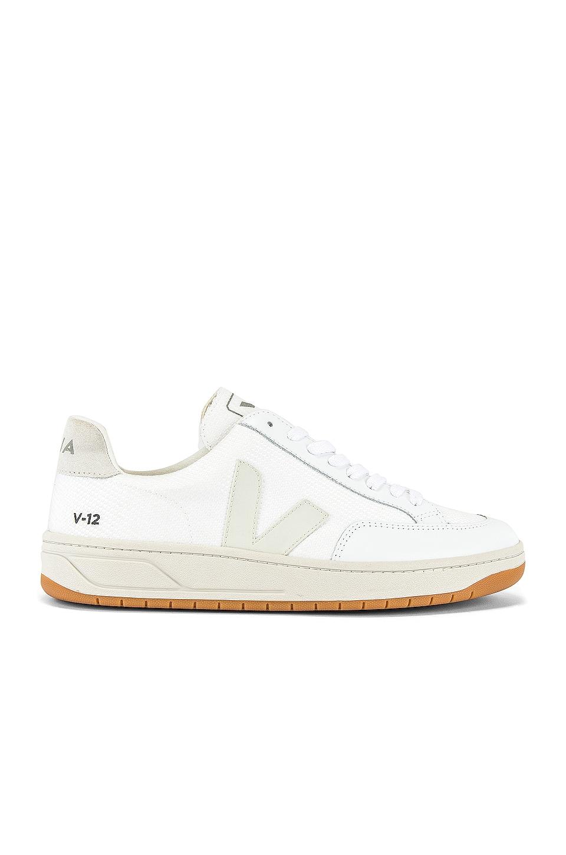 Veja B Mesh Sneaker in Natural White