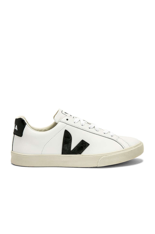 Veja Esplar Sneaker in White & Black