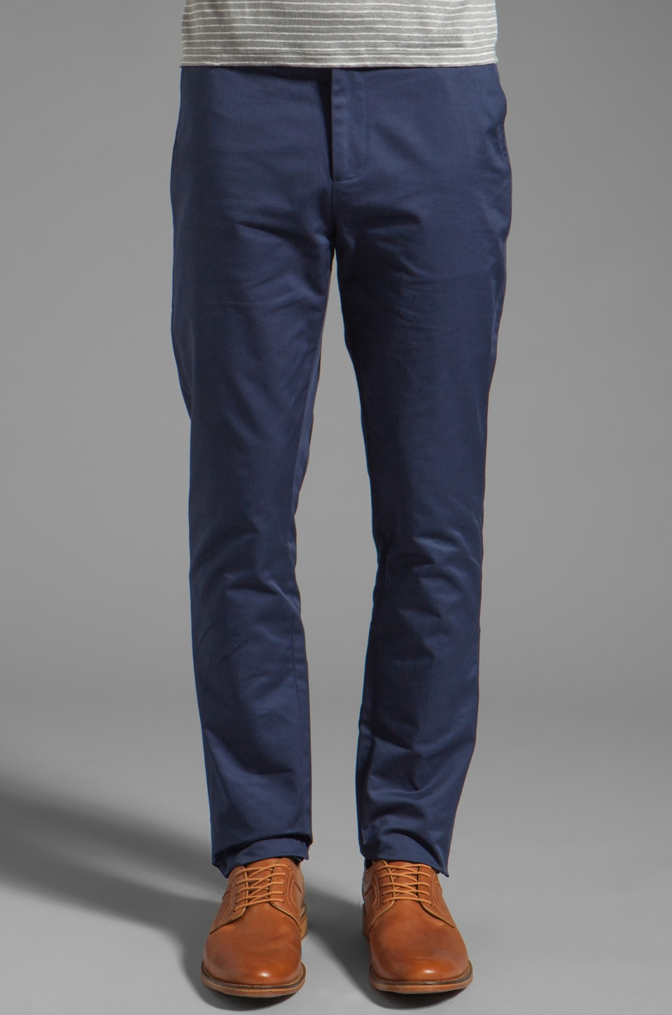 Vanishing Elephant Classic Suit Pant in Navy