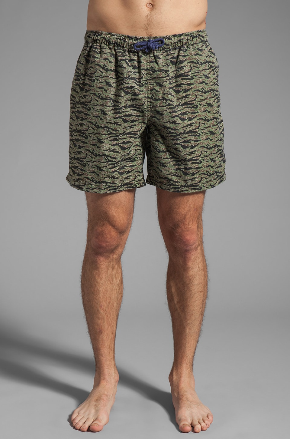 Vanishing Elephant Drawcord Boardshort in Camo