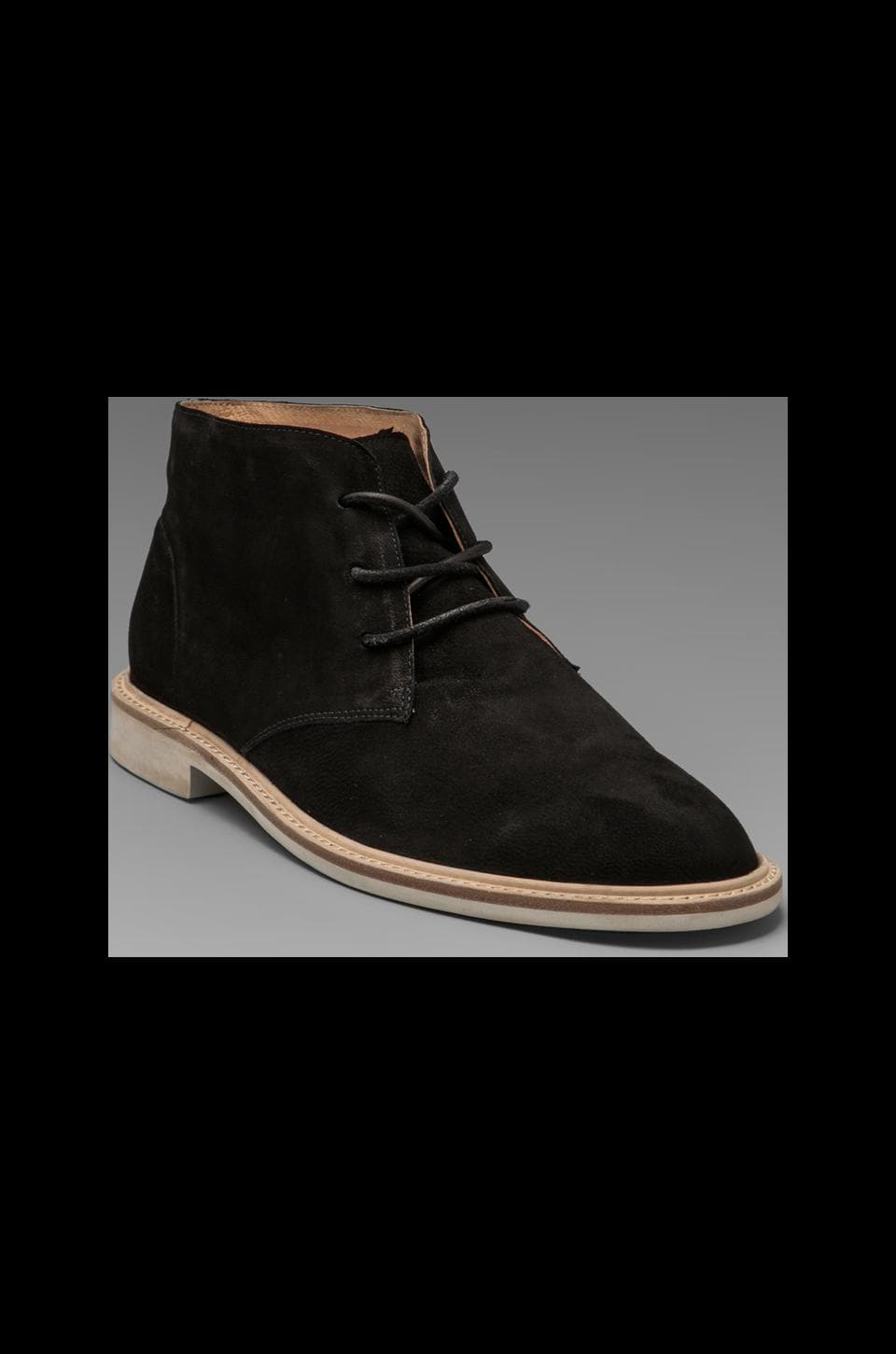Vanishing Elephant Lawson Desert Boot in Black