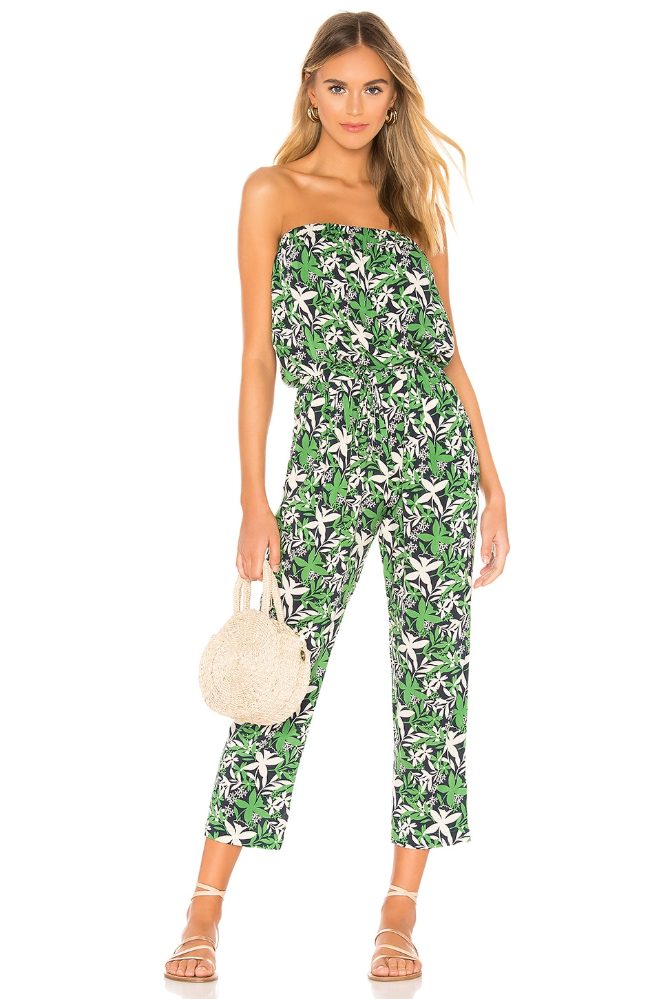 Velvet by Graham & Spencer Loretta Jumpsuit in Verde