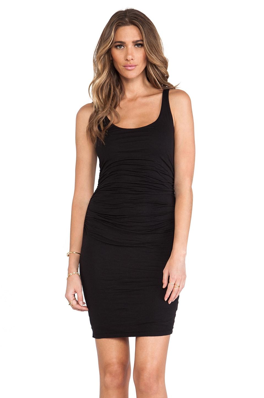 Velvet by Graham & Spencer Gauzy Whisper Melody Dress in Black