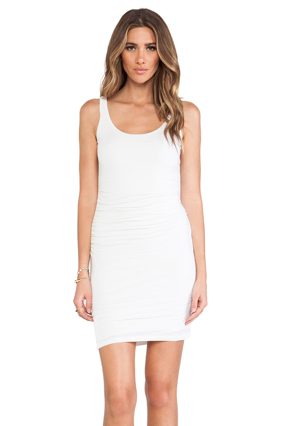 Velvet by Graham & Spencer Gauzy Whisper Melody Dress in Coconut