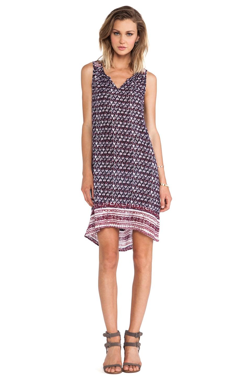 Velvet by Graham & Spencer Aberisa Seville Gauze Dress in Multi