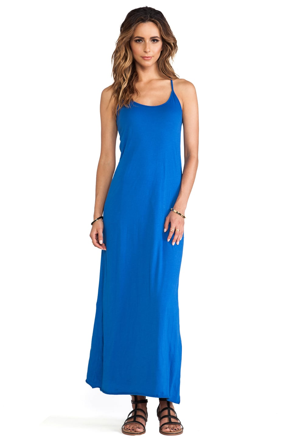 Velvet by Graham & Spencer Nima Gauzy Whisper Dress in Seaport