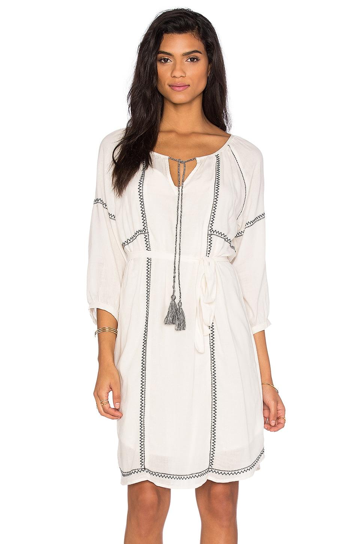 Cristal Embroidered Crepe Shift Dress by Velvet by Graham & Spencer