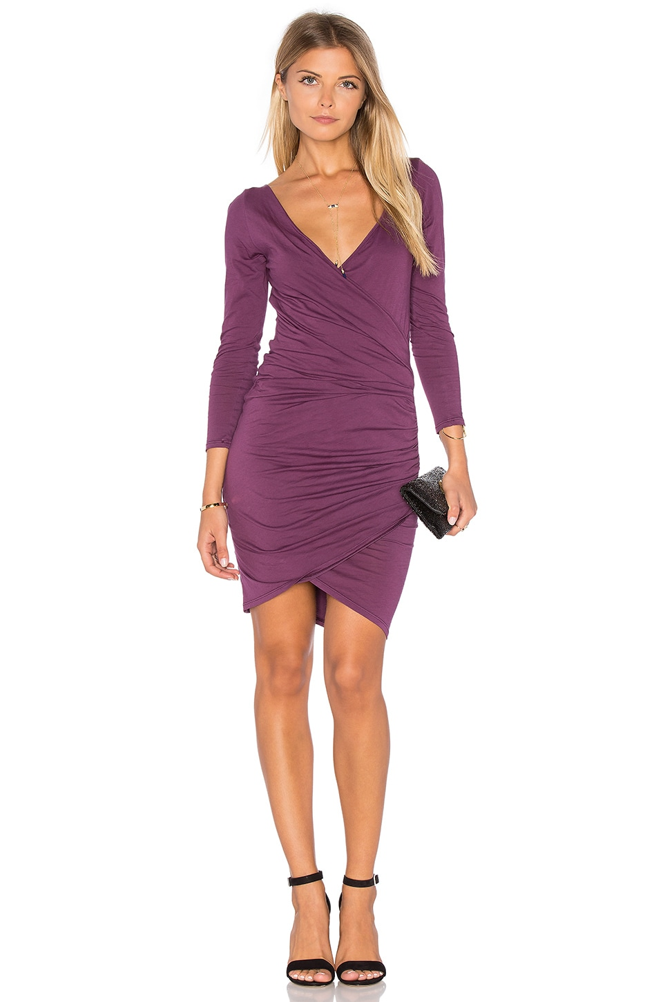 Beatriz Long Sleeve Body Con Dress by Velvet By Graham & Spencer