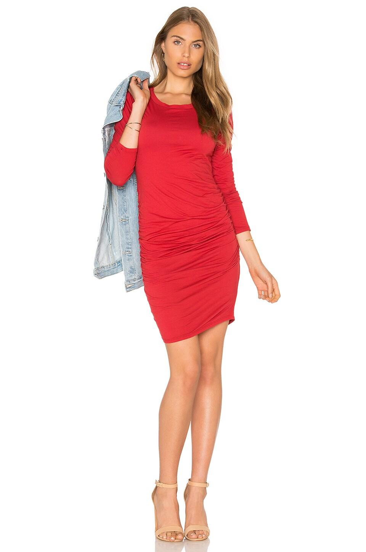 Yurel Long Sleeve Crew Neck Mini Dress by Velvet by Graham & Spencer