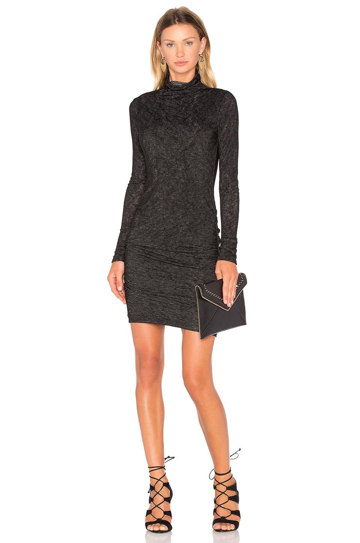Dacey Long Sleeve Turtleneck Mini Dress by Velvet by Graham & Spencer