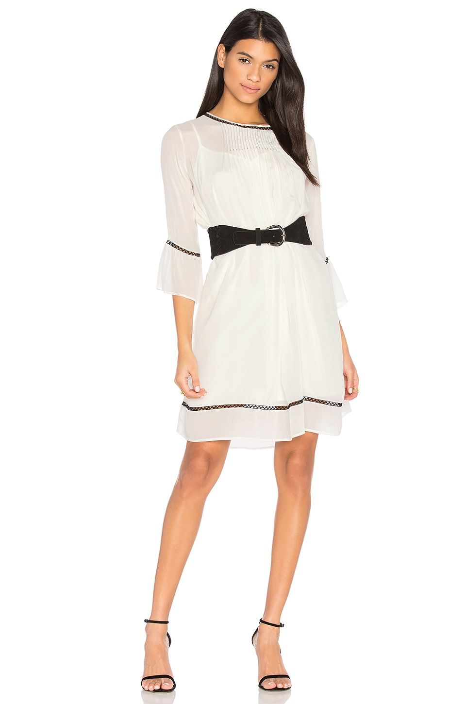 Caia Pintuck Dress by Velvet By Graham & Spencer