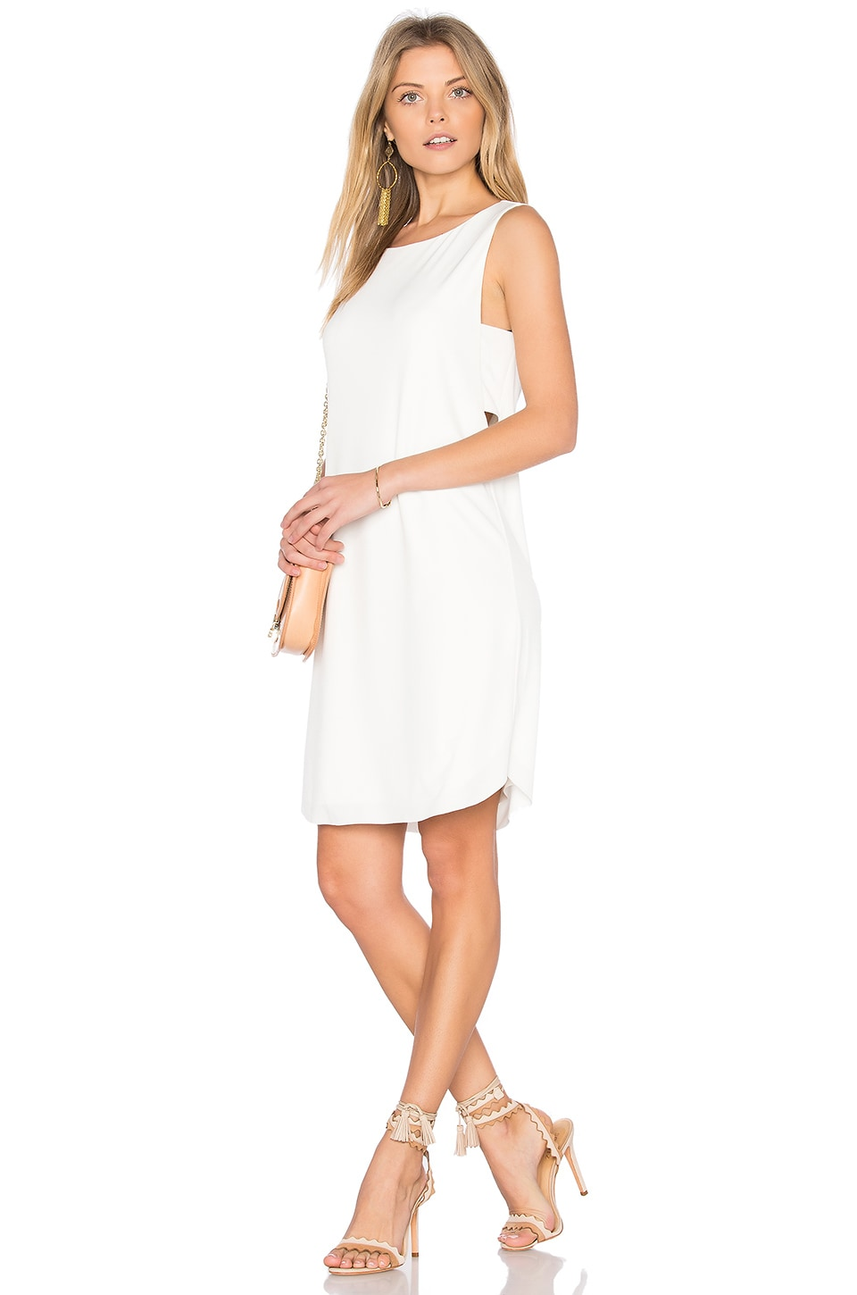Velvet by Graham & Spencer Eugenia Tank Dress in Cream
