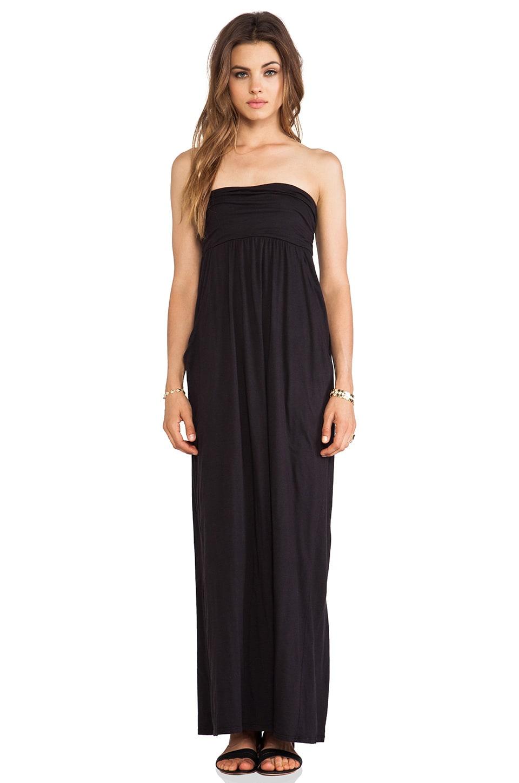 Velvet by Graham & Spencer Gauzy Whisper Morainn Dress in Black