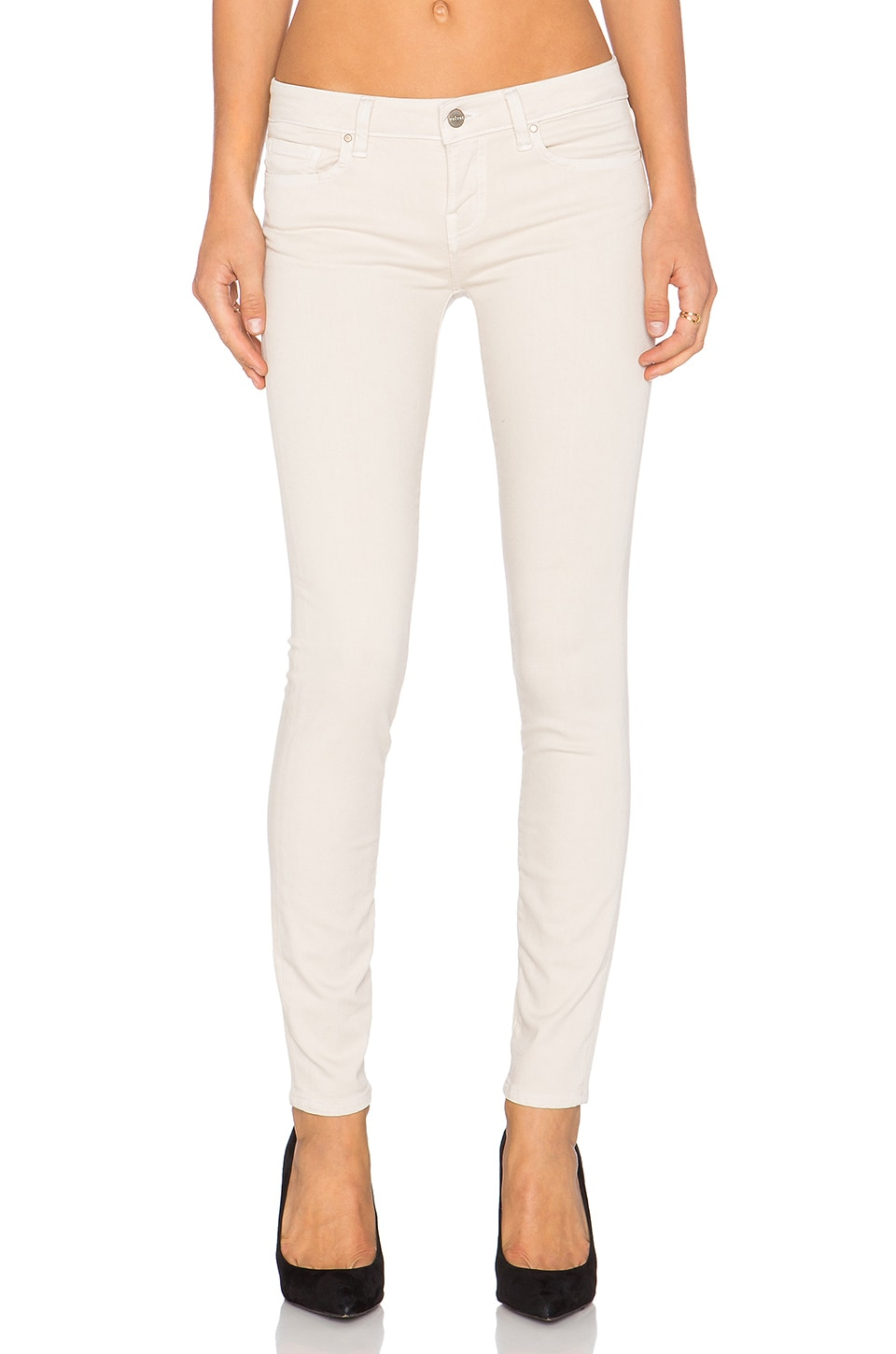 Velvet by Graham & Spencer Toni Skinny in Oatmeal