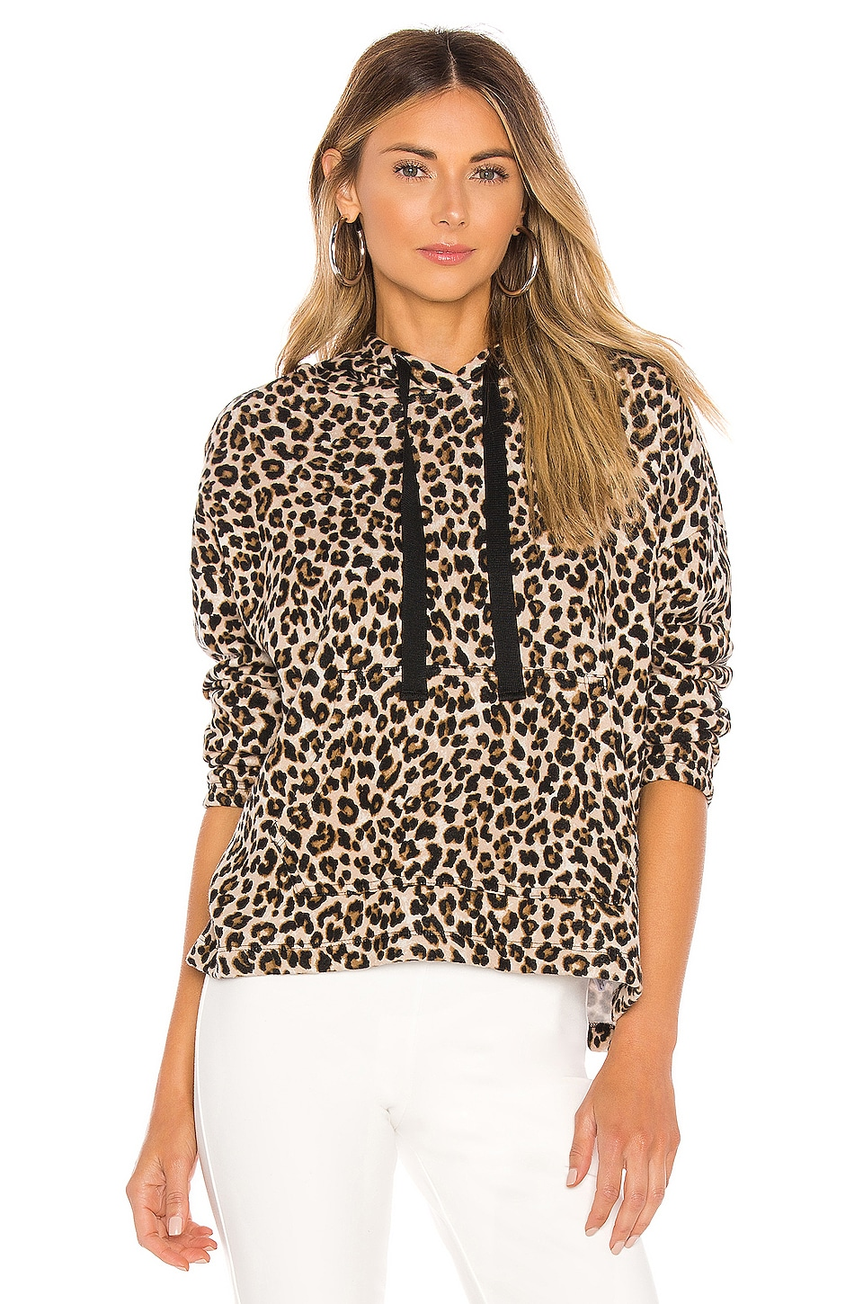 Velvet by Graham & Spencer Kassidy Hoodie in Leopard