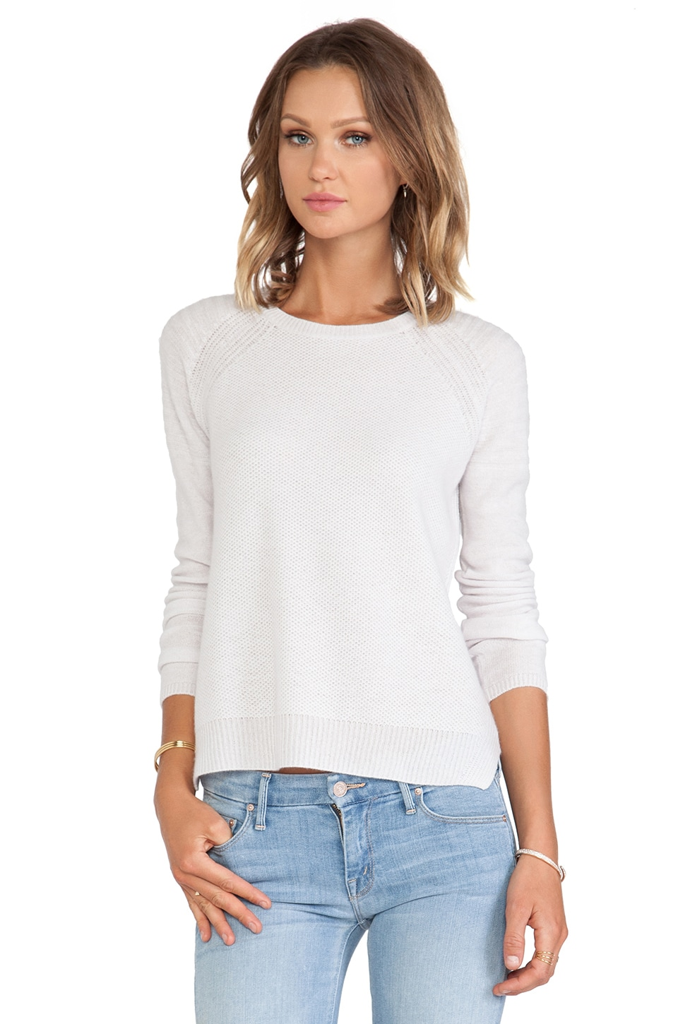 Velvet by Graham & Spencer Alba Cashmere Classic Sweater
