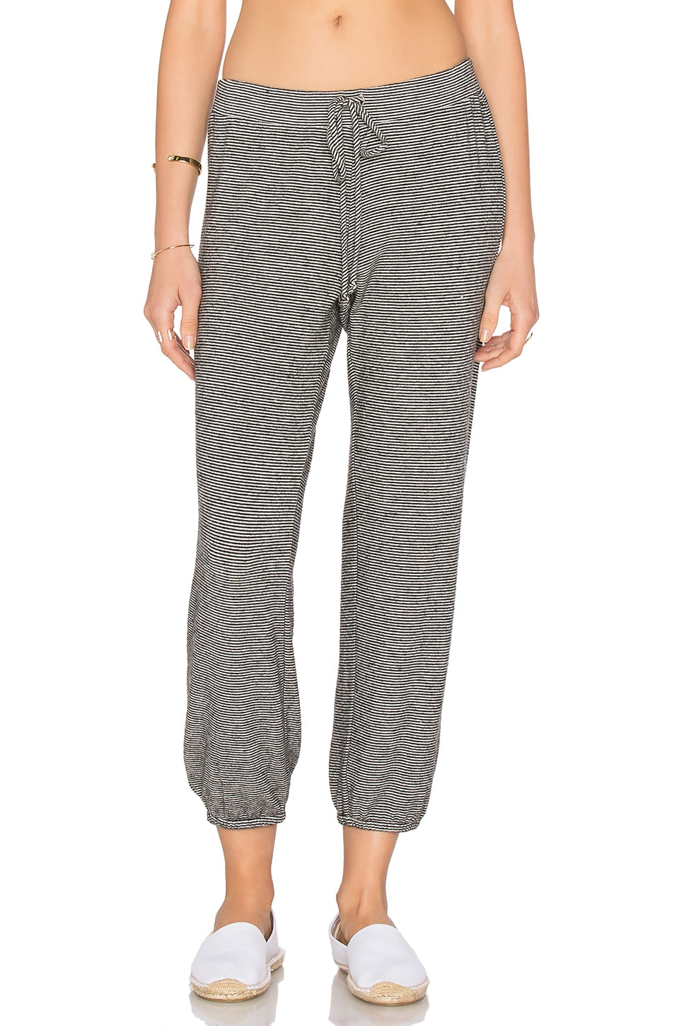 Faine Tied Waist Jogger Pant by Velvet by Graham & Spencer