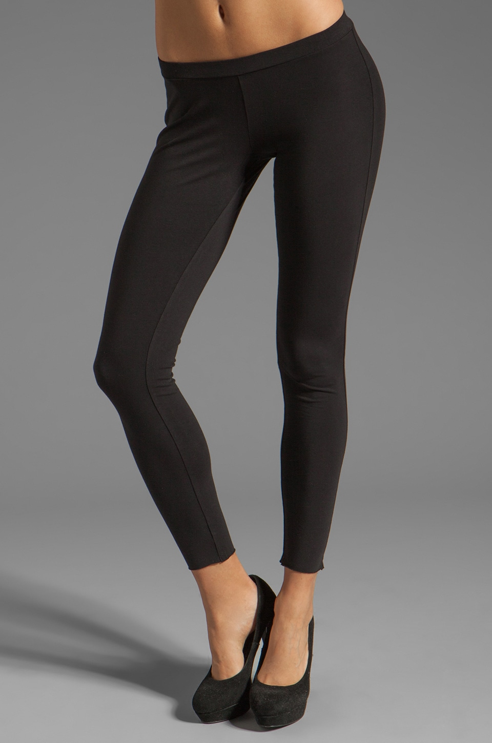Velvet by Graham & Spencer Swoosie Leggings in Black